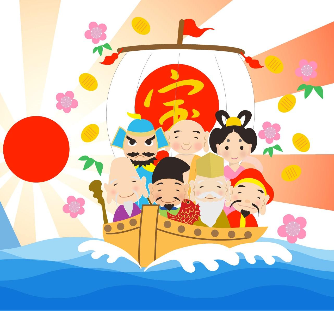 七福神めぐりウォーキング 豊洲マガジン 1