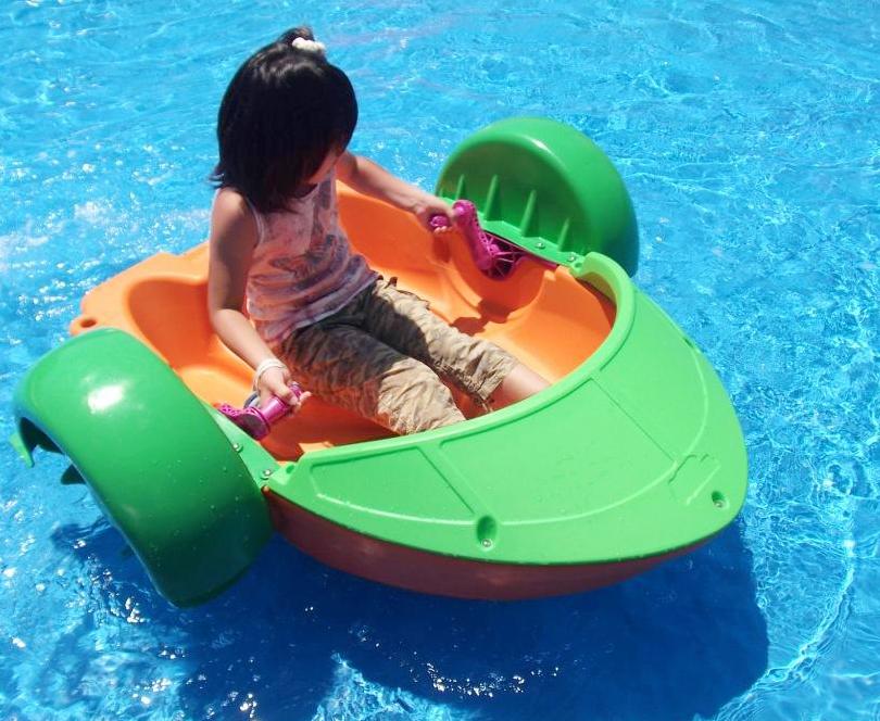 パドルボートで遊ぼう!