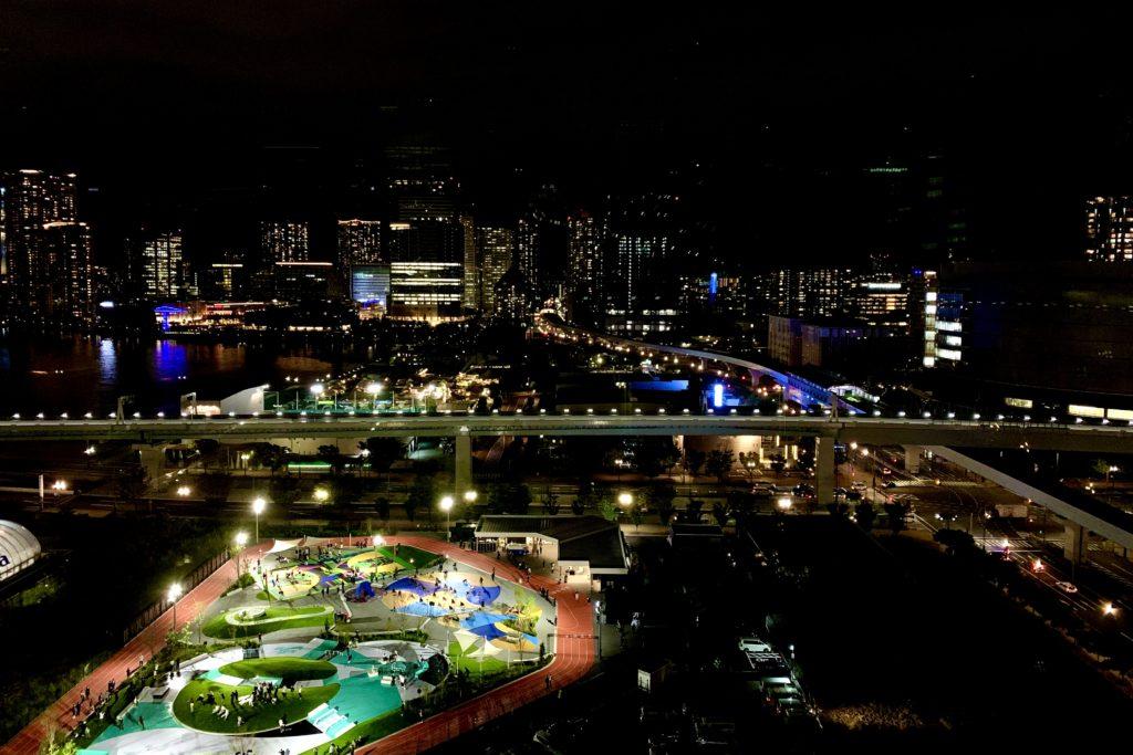 ホテルJALシティ東京 豊洲_豊洲の夜景