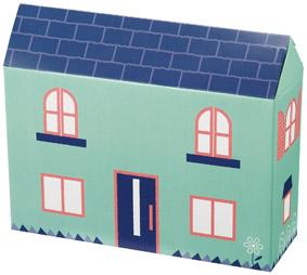 B賞 : 家型ボックス キッチンお役立ち4点セット(もれなく)